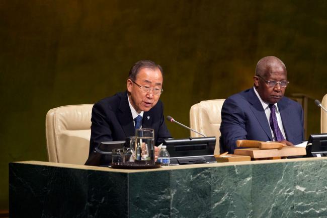 Ban welcomes UN's endorsement of action plan on post-2015 development financing