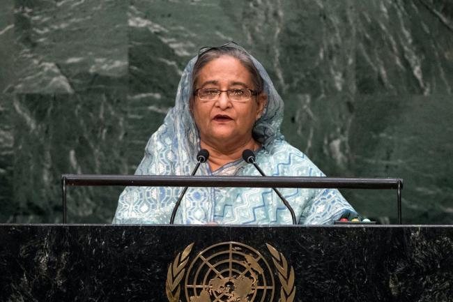 Terrorism and climate change greatest threats to humanity: Bangladeshi PM Sheikh Hasina