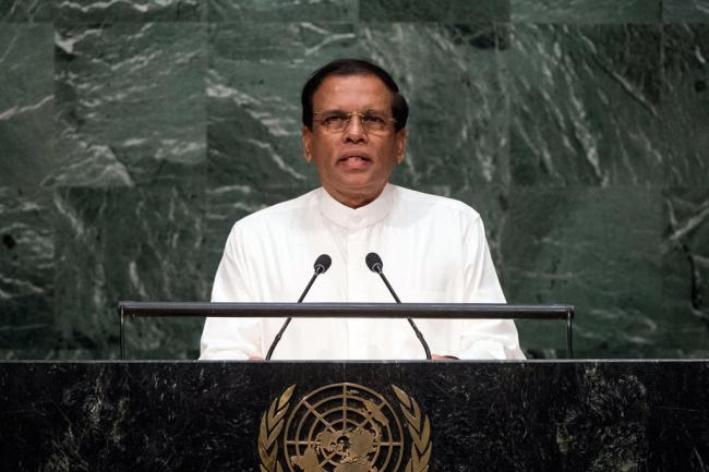 President of Sri Lanka details country's vision built on sustainability and reconciliation