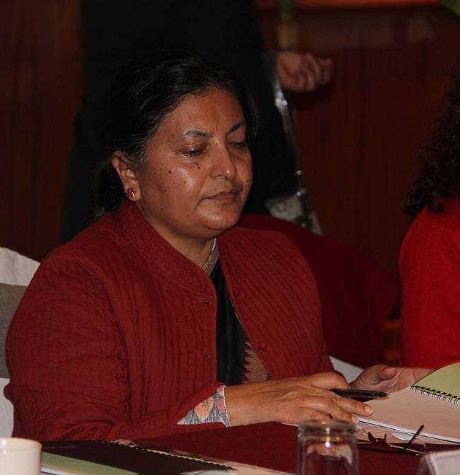 Nepal welcomes its first female President