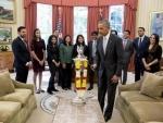 Barack Obama celebrates Diwali, lights first-ever diya in Oval Office