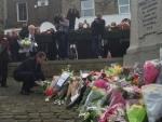British Prime Minister David Cameron pays tribute to Jo Cox