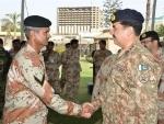 Raheel Sharif visits Pakistan Rangers HQ in Karachi