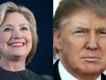 US presidential elections: Trump, Clinton cast votes