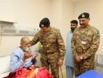 Pakistan: Raheel Sharif visits Army Liver Transplant Unit