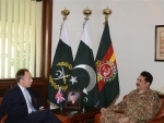 British High Commissioner meets Pakistan's General Raheel Sharif