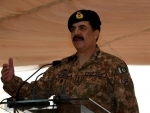 Raheel Sharif pays farewell visit to Lahore Garrison