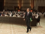 'Together, we can move from aspiration to action,' Ban tells global, regional leaders in Qatar