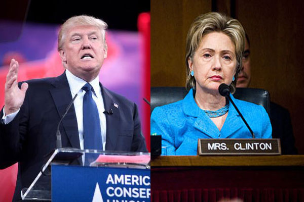 Donald Trump calls Hillary Clinton 'crooked', engages in Twitter war