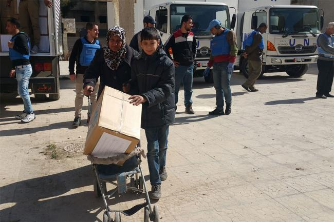 Humanitarian and ceasefire tracks for Syria 'moving in the right direction' – UN envoy