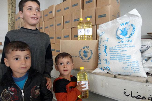 Syria: UN agency restores full rations thanks to boost in donor funding