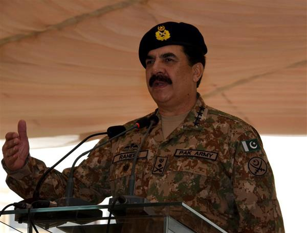 Raheel Sharif confirms death sentences awarded to 10 terrorists