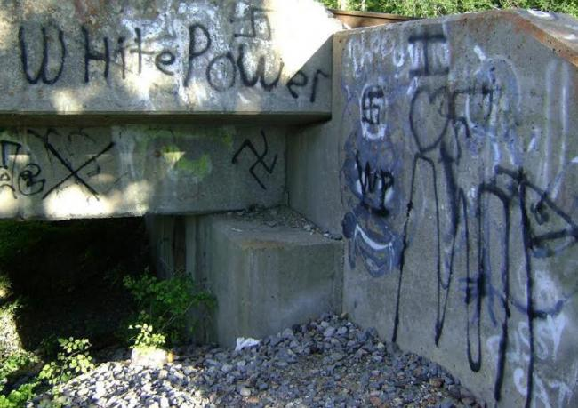 Toronto man spots Anti-Semitic graffiti