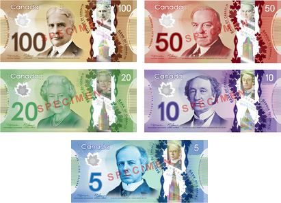 One among five prospective women's image to appear on next Canadian bank note