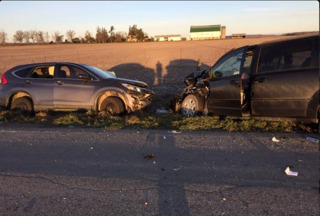 One injured seriously, two more injured, after vehicle collision near Toronto