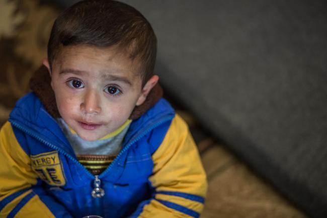 87 million children under seven have known nothing but conflict, UNICEF reports