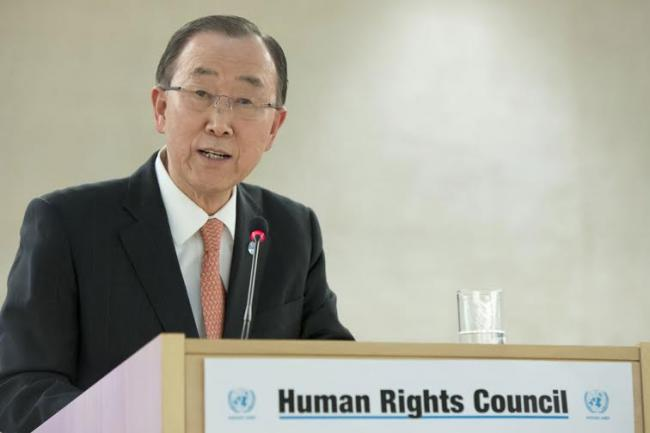 UN development agenda seeks to reach 'those farthest behind,' Ban tells Human Rights Council