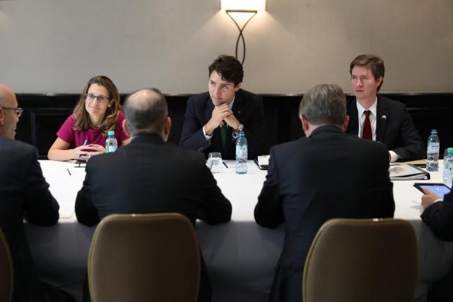 Trudeau focuses on Canada-Argentine business in Argentina trip