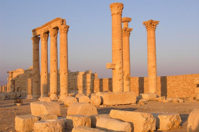 UNESCO team assesses damages to Syria's Palmyra world heritage site