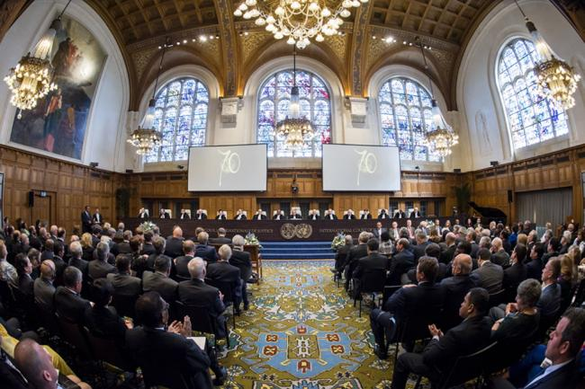 Ban hails rule of law as 'foundation of progress' as 'World Court' marks 70th anniversary
