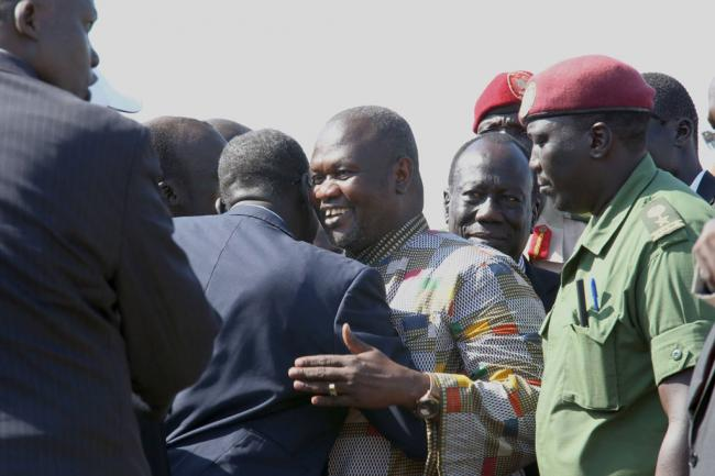 South Sudan: Ban welcomes swearing in of Riek Machar as First Vice-President