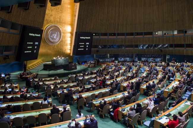 US abstains for first time in annual UN vote on ending embargo against Cuba