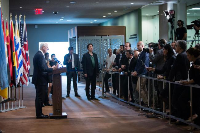 Syria: UN envoy urges 'well prepared' peace talks for concrete political transition