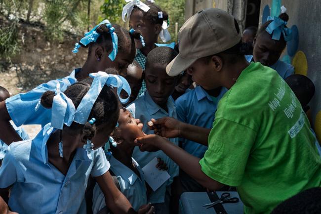 UN deputy chief briefs Member States on new UN approach to cholera outbreak in Haiti