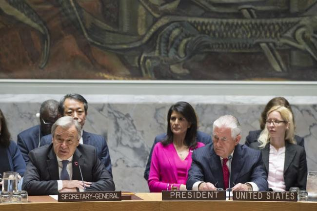 Korean Peninsula: Conflict prevention 'our collective priority' but onus also on DPRK, says UN chief