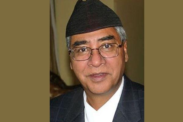 Sher Bahadur Deuba takes oath as Nepal PM
