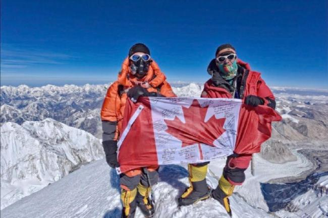 Former Alberta politician becomes oldest Canadian to summit Mount Everest