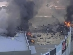 Five feared dead as plane crashes into shopping mall in Melbourne