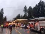 At least three killed as Amtrak train jumps track
