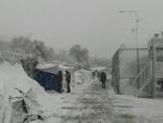 Migrants battling exposure as freezing temperatures grip Europe, warns UN agency