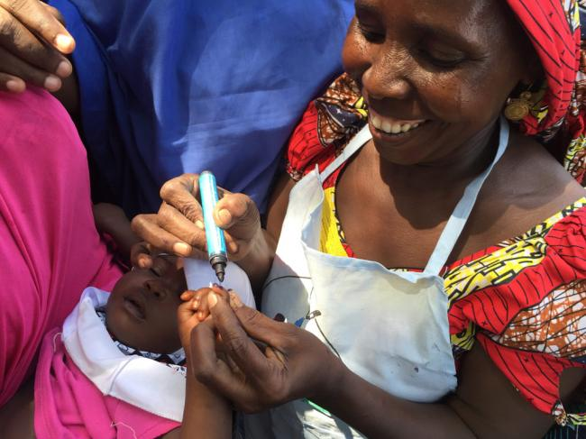 UN-backed campaign to help vaccinate millions of children against measles in north-east Nigeria