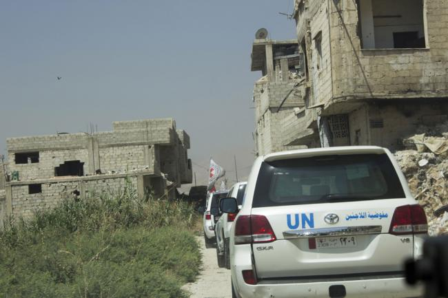 Security Council renews Syrian cross-border relief convoys amid ongoing challenges for aid workers