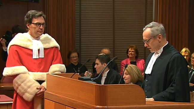 Richard Wagner sworn in as Canada Chief Justice
