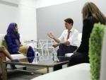 Canada PM Justin Trudeau meets Malala Yousafzai in Ottawa