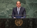 Developing countries 'losing out' in a world not governed by laws, Egyptian President says at UN Assembly