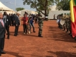 In Mali, Guterres honours dedication and sacrifice of UN peacekeepers