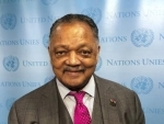 Jesse Jackson issues call at UN for 'global coalition of conscience' to cement human rights