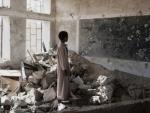 UN chief condemns air strike that hit school bus in northern Yemen, killing scores of children