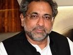Pakistani PM Shahid Khaqan Abbasi will attend World Economic Forum