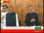 Arif Alvi takes oath as Pakistan's 13th President