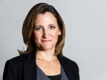 Canada Foreign Minister Freeland to promote Canada's multilateralism & oppose U.S.tariffs
