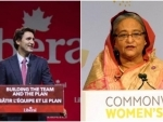 Canadian PM Justin Trudeau invites Sheikh Hasina for G7 Special Session