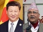 Nepal PM KP Oli meets Chinese President Xi in Beijing