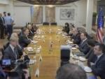 Mike Pompeo meets Israel Prime Minister Benjamin Netanyahu
