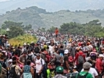 UN agency assists Central American caravan migrants, voices concern for receiving countries