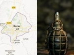 Bomb blast kills a cop in Afghanistan